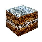 Leopard stool Royalty Free Stock Photo