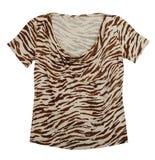 Leopard t-shirt Stock Image