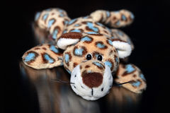 Leopard toy Stock Image