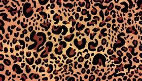 Leopardbakgrundsmode royaltyfri illustrationer