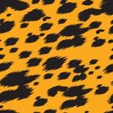 Leopardbeschaffenheit Lizenzfreies Stockbild