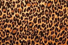 Leopardbildpelz als Hintergrund Lizenzfreies Stockfoto
