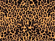 Leoparddruckvektor stock abbildung