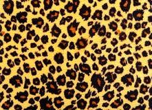 Leopardhautbeschaffenheit. Lizenzfreies Stockbild
