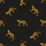 Leopardi del modello illustrazione vettoriale