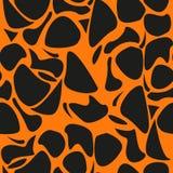 Leopardmuster, Vektorhintergrund wiederholend Stockbild