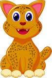 Leopardo bonito Ilustração do Vetor