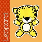 Leopardo del bebé Foto de archivo