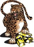 leopardo del Chino-estilo Fotografía de archivo libre de regalías