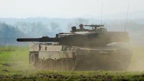 Leopardo do tanque imagens de stock