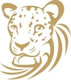 leopardstilswish royaltyfri illustrationer