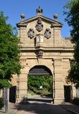 Leopold Gate, Vysehrad Arkivfoto
