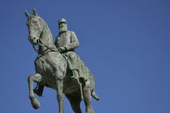 Free Leopold II Statue - King Of The Belgians Royalty Free Stock Photography - 44986757