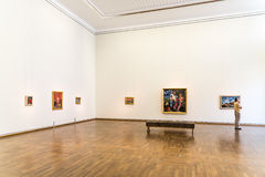 The Leopold Museum In Vienna Stock Photos