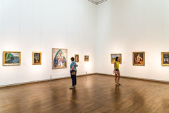 The Leopold Museum In Vienna Stock Images