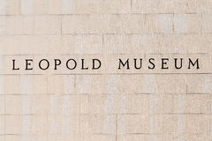 Leopold Museum In Vienna Royalty Free Stock Images