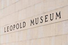 Leopold Museum In Vienna Stock Photo