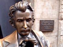 Leopold Ritter von Sacher-Masoch;. Leopold Ritter von Sacher-Masoch - Monument in Lviv, Ukraine Stock Photography