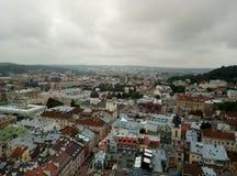 Leopoli, Ucraina, Europa, architettura, città del leone, vecchie costruzioni, immagini stock libere da diritti