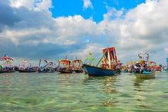 Lepa di regata in Sabah Fotografia Stock