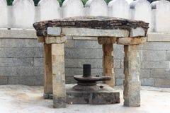 Lepakshi雕刻 免版税库存图片
