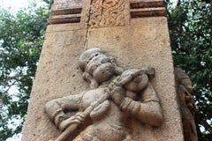 Lepakshi雕刻 图库摄影