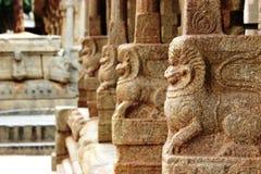 Lepakshi carvings Royaltyfri Bild