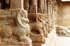 Lepakshi carvings Arkivbilder