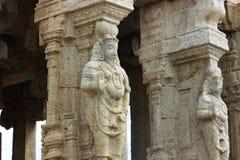 Lepakshi carvings Royaltyfri Fotografi