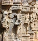 Lepakshi carvings Arkivfoto