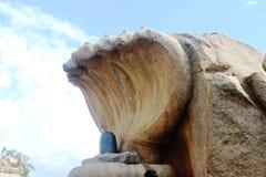 Lepakshi carvings Arkivbild