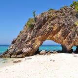 lepe eiland Stock Afbeeldingen