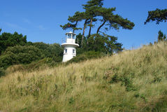 Lepe Lighthouse Stock Image