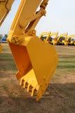 Lepel 2 van de bouw stock foto