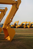 Lepel 3 van de bouw stock foto