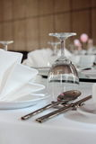 Lepel en roestvrije eetstokjes Royalty-vrije Stock Afbeelding