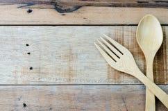 Lepel en vork stock afbeelding