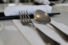 Lepel en vork Royalty-vrije Stock Fotografie
