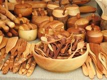Lepels en ander keukengereedschap Royalty-vrije Stock Fotografie