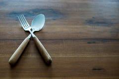 Lepels en vork Royalty-vrije Stock Foto