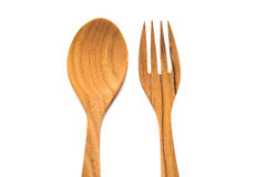 Lepels en vork Royalty-vrije Stock Afbeelding