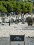 Leper Graveyard Robben Island. Leper Graveyard in Robben Island prison royalty free stock image