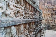 Leper King terrace. Angkor Thom. Cambodia Royalty Free Stock Photo