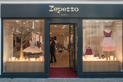 Lepetto store - the traditional brand of classical dance furniture royalty free stock photography
