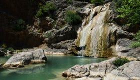 Lepida瀑布  库存图片