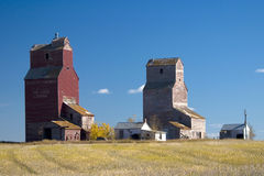 Lepine Grain Elevators Stock Photos