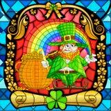 Leprachun for Saint Patrick's Day Royalty Free Stock Image