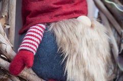 leprechaun για τη διακόσμηση Χριστουγέννων Στοκ Φωτογραφίες