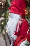 Leprechaun στην αγορά Χριστουγέννων Στοκ εικόνα με δικαίωμα ελεύθερης χρήσης