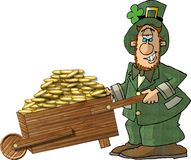 Leprechaun 1 royalty free illustration
